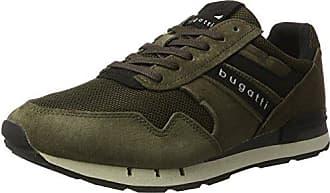 Bugatti 322408016900, Zapatillas para Hombre, Verde (Dark Green), 40 EU