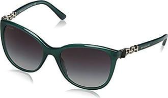 Bulgari BVLGARI Damen Sonnenbrille 0BV8145B 501/8G, Schwarz (Black/Gradient), 55