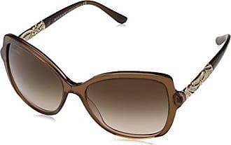 Bvlgari Unisex-Erwachsene Sonnenbrille 8174 dunkel braun, 56