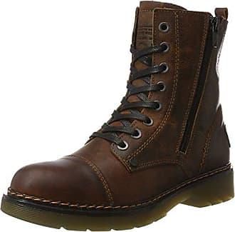 6705A, Zapatos de Cordones Derby para Hombre, Marrón (Brown Dbbk), 45 EU Bullboxer