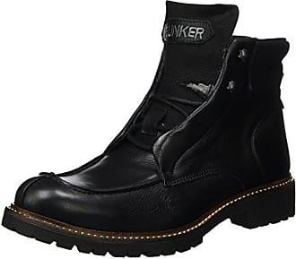 Northland 02-02088 Hudson Leather Winter Boots, Stivali uomo, Nero (Schwarz (black/dk grey)), 43 Northland