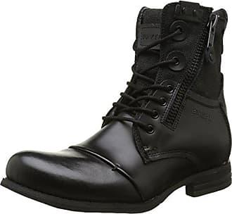 Jeans Stivale, Botas Militares para Mujer, Negro (Nero 00020), 40 EU Armani