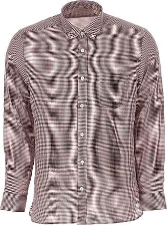 Shirt for Men On Sale, Red, Cotton, 2017, S - IT 46 M - IT 48 L - IT 50 Burberry