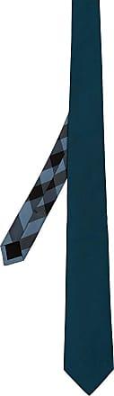 Pin Corte Corbata De Seda De Punto Moderno - Burberry Azul 37DQoPEW