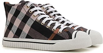 Sneakers for Women On Sale, Black, Canvas, 2017, UK 4 - EU 37 - US 7 Burberry