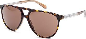 Burberry Sonnenbrille B4254 3001/87, UV 400, schwarz/braun