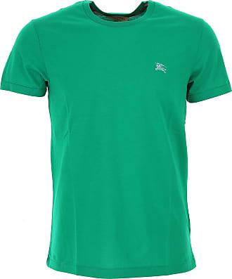 Camiseta de Hombre Baratos en Rebajas, Fucsia, Algodon, 2017, L XL XS Burberry