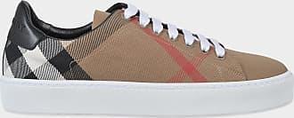 Burberry Westford Check Spitze Up Sneaker aus Klassischer Check Baumwolle XRfbHXu