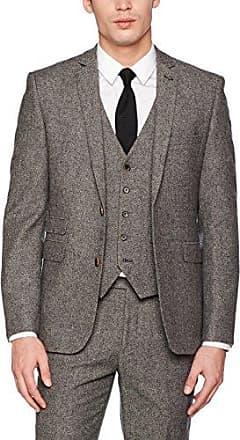 Mens Skinny Jacquard Tuxedo Trousers, Purple, 34R Burton Menswear London