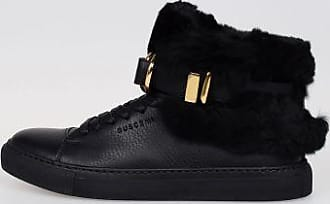 Leather 100MM RABBIT High Top Sneakers Fall/winter Buscemi UkS2bVm9TL