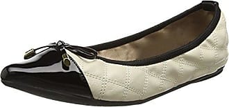 Damen Ballerinas Ballerinas Olivia, Off-White (Cream), Gr. 38 (UK: 5) Butterfly Twists