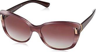 Womens 0BV6082 376/7E Sunglasses, Pink Gold/Havana Pink Brown/Pinkmirrorsilvergradient, 58 Bulgari