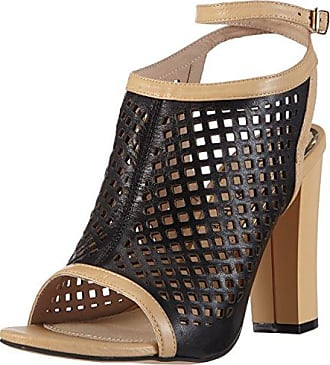 Womens Kne914 Open Toe Sandals, Black, 5 Caf