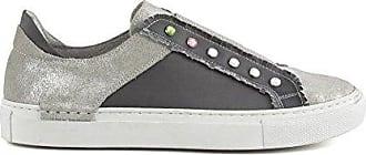 Sneakers Cafè Noir MDC527 in crosta laminata e strass 39 Cafènoir zw9Wl