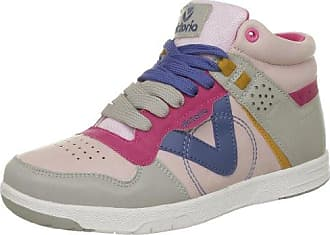 Sneaker Multicolor Pu, Chaussures montantes femme - Bleu (Francia), 37 EUVictoria