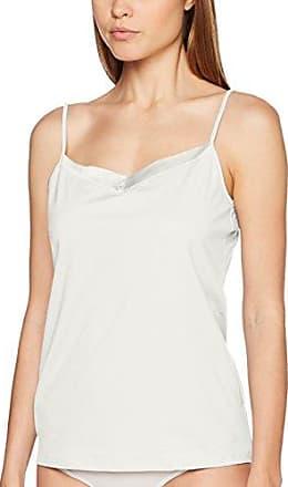 CALIDA Madeira Spaghetti Top, Camiseta de Tirantes para Mujer, Gris (Soft Grey Melé 834), 44