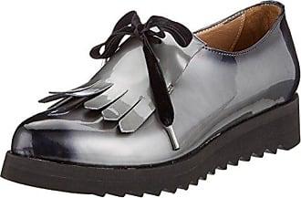 Calpierre Da88-b, Zapatos de Tacón para Mujer, Gris (Grigio/Nero Grigio/Nero), 38 EU