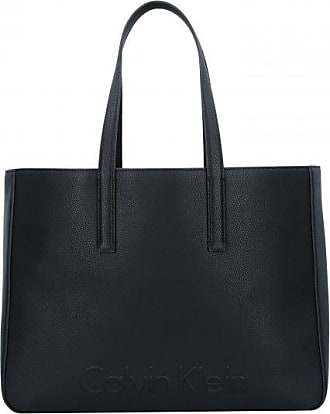 Le4 Large Tote Handtasche 40 cm dove Calvin Klein PJXNep