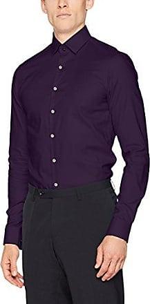 K30K300802641003, Camisa para Hombre, Morado (Cordovan), 43 Calvin Klein