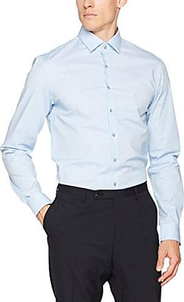 Venice Extra Slim Fit FTC, Chemise Business Homme, Gris (Charcoal), Large (Taille Fabricant: 41)Calvin Klein
