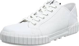 Calvin Klein Jeans Taja Mesh/Hf, Zapatillas para Mujer, Blanco (Wsi 000), 41 EU