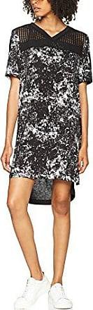 Calvin Klein Dael 2 Aop Logo, Robe Femme, (Speed Racer Aop CK Black), Small (Taille Fabricant: S)