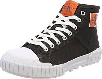 Bixi Nylon, Zapatillas Altas para Mujer, Negro (Blk 000), 36 EU Calvin Klein Jeans