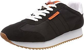Calvin Klein Jeans Graph Nylon/Suede, Sneakers Basses Homme, Noir (Blk 000), 41 EU