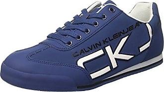 Calvin Klein Jeans Vital Nylon, Sandalias con Punta Abierta para Hombre, Azul (Stb 000), 42 EU
