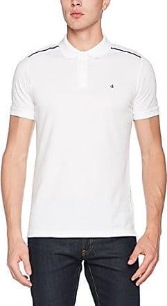 Calvin Klein Polo - Homme - Large - Blanc (White 100) 4F9hh4fp