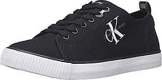 Calvin Klein Jeans Arnold Canvas, Zapatillas para Hombre, Blanco (Wht 000), 42 EU