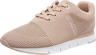 Calvin Klein Jeans Zolah Canvas, Sneakers Basses Femme, Rose (Dsk 000), 39 EU
