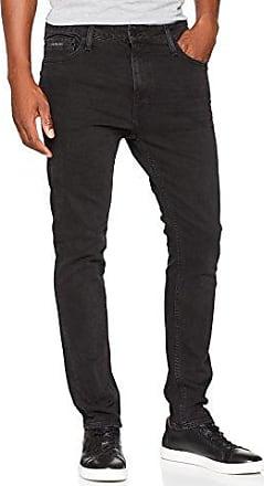 Jeans Straight, Vaqueros Slim para Hombre, Azul (Black Tarantula 914), W31/L34 (Talla del Fabricante: 3431) Calvin Klein