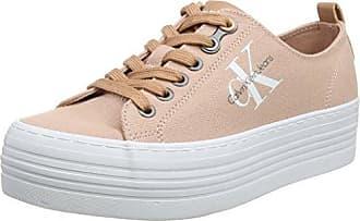 Bianca Nylon, Sneakers Basses Femme, Bleu (Stb 000), 39 EUCalvin Klein Jeans