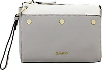 Clutch Tasche 27 cm cement Calvin Klein QcE0WR07a