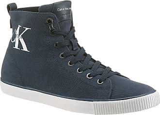 Calvin Klein Plateausneaker, mit Logoschriftzug außen, schwarz, EURO-Größen, schwarz