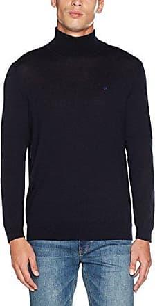Spike Roll Neck, Camiseta Cuello Alto para Hombre, Azul (Roma 159), X-Large Calvin Klein