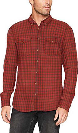 107ee2f013, Chemise Casual Homme, Rouge (Garnet Red 620), 41 (Taille Fabricant: Large)Esprit