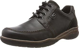camel active Washington 11 - Zapatos de cordones para hombre, color schwarz (black), talla 46