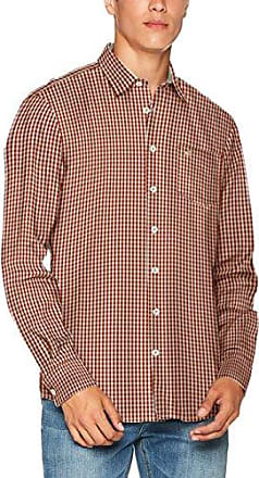 Carl B.D. 1/1, Chemise Casual Homme, Rouge (Burnt Red 44), 50 (Taille du Fabricant: XXX-Large)Camel Active