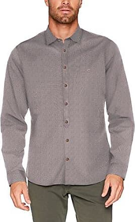 Chris Kent 1/1, Chemise Casual Homme, Bleu (Petrol 54), 40(Taille Fabricant: Small)Camel Active