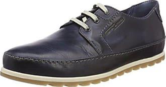 Camel Active Breathe GTX 11, Zapatos de Cordones Oxford para Hombre, Gris (Grey), 48.5 EU