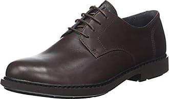 Truman, Zapatos de Cordones Oxford para Hombre, Negro (Black 001), 43 EU Camper