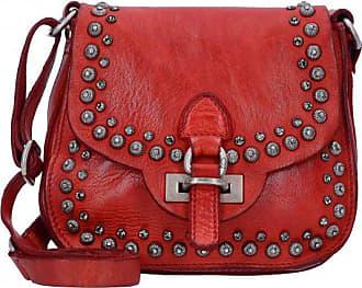 Campomaggi Lichene Mini Bag Sac bandoulière cuir 20 cm rosso TlK8qMn