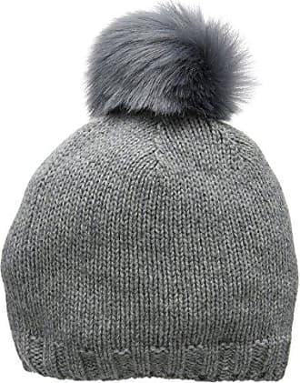 Femmes Beau Chapeau Bonnet En Tricot De Câble De Calibre - Lxl - Terres Grises Fin VvnfHbrxq
