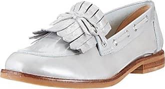 Caprice 24610, Mocasines para Mujer, Blanco (Offwht Glitter 112), 38 EU