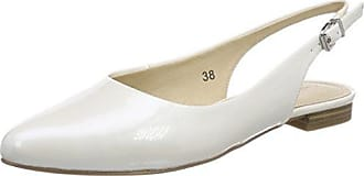 Caprice 22406, Damen Pumps, Weiß (White Patent 123), 40.5 EU