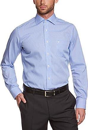172816600, Camisa de Oficina para Hombre, Azul (Blau 100), Small (Talla del Fabricante: 37) Casamoda