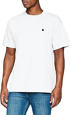 S/S Champ, Camiseta para Hombre, Multicolore (Stripe/Blue/White/Goji 880), Medium (Tallas De Fabricante:Medium) Carhartt Work in Progress