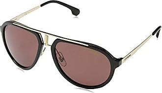 Unisex-Adults 132/S PR Sunglasses, Black Gold, 57 Carrera